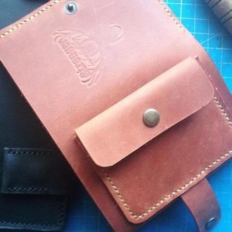 трифолд кошелек мини кошелек портмоне