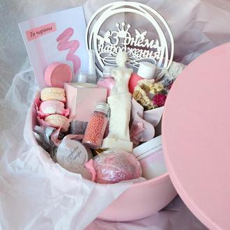 Подарочный набор бокс «Woman SPA box VIP», подарок девушке, жене, подруге,на день рождения