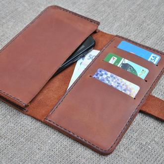 Оригинальный чехол для смартфона из натуральной кожи H01-210