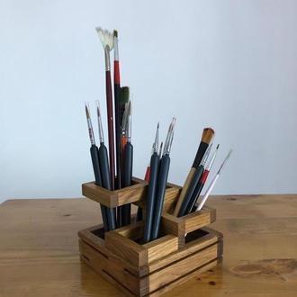 Подставка под кисти ,карандаши