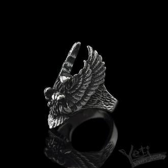 """Срібний перстень з орлом """"Wings of Freedom"""""""