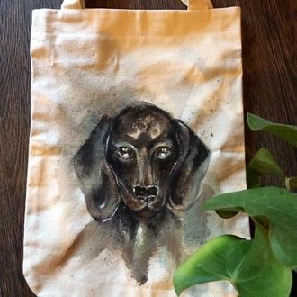 Эко-сумка Собака 2