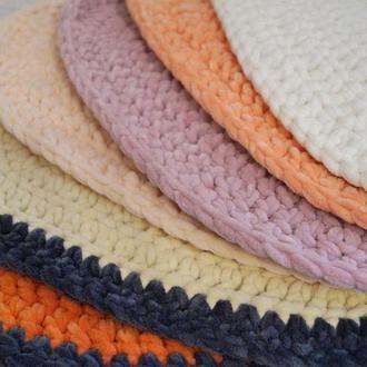 Овальные коврики под лежанки для кота. 6 расцветок на выбор