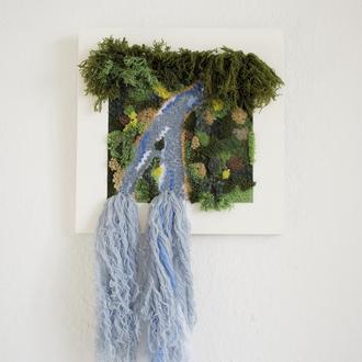 Вишитий декор на стіну / декоративна вишивка / килимова вишивка / дитячий декор