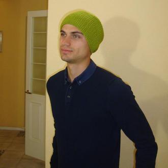 Чоловіча шапка біні стильна - демисезон/зима