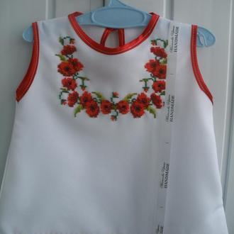 Детское платье №03