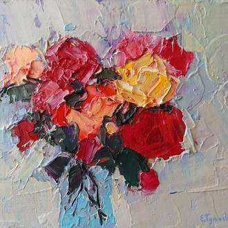 """Авторська картина маслом """"Троянди"""""""