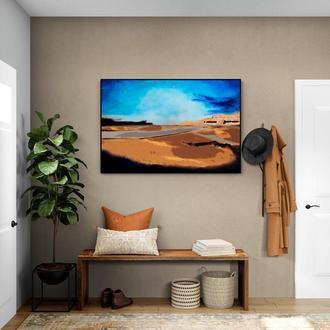 """Абстрактный пейзаж """"Дворец в пустыне"""""""