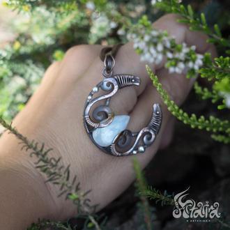 ельфійська лунница з місячним каменем