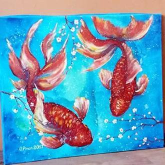 рибки кои