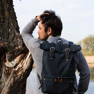 Заплічник (рюкзак, ранець) ролл-топ TM Escargo