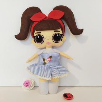 Куколка ЛОЛ из фетра