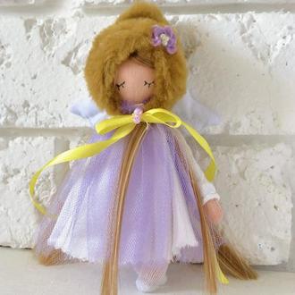 Кукла ангел Тильдовские куклы Текстильные Ангелочки миниатюрные куколки