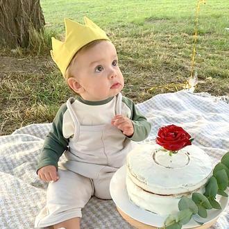 Корона надень рождения. Повязка на голову, на детский праздник.