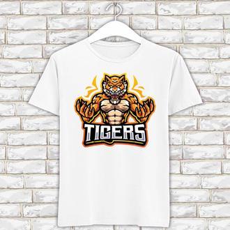"Футболка с новогодним принтом ""Тигр. Tigers"" Push IT"