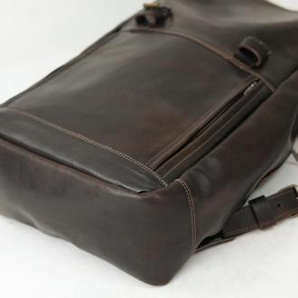 Рюкзак Hankle H7 кожа Краст цвет Кофе