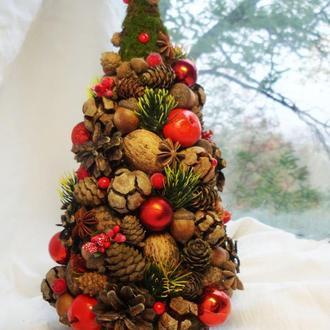 Эко-ёлочка ′Рождественские краски′