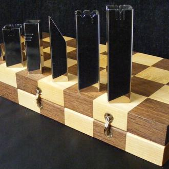 Складаний шаховий набір. Абстрактні шахи