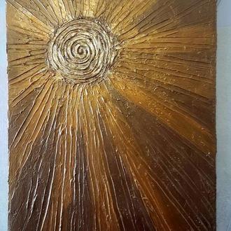 """Інтер'єрна картина """"Розплавлене сонце"""""""