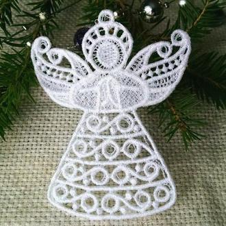 ангел, интерьерная подвеска, украшение на елку