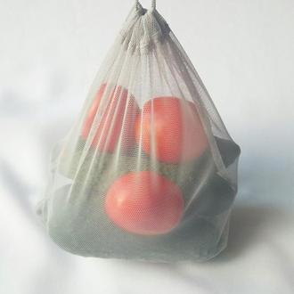 Эко мешочки для овощей, сеточки, фруктовки, многоразовые пакетики