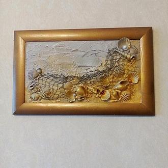 """Картина """"Золото морей"""""""