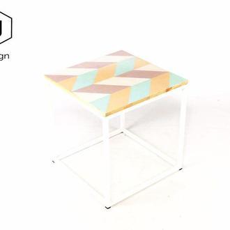 Дизайнерский журнальный столик - VJ Stripes Table