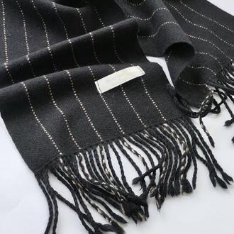 Класичний чоловічий тканий шарф