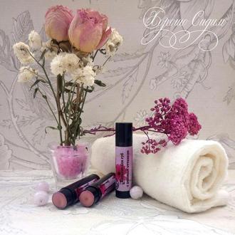 Бальзам для губ с розовым оттенком