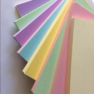 Блок для создания блокнота А5 цветной/ в ассортименте