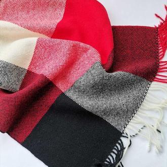 Тканий шарф