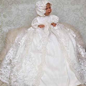 Роскошное крестильное платье Изабелла