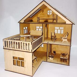 Кукольный домик 3D конструктор 1104