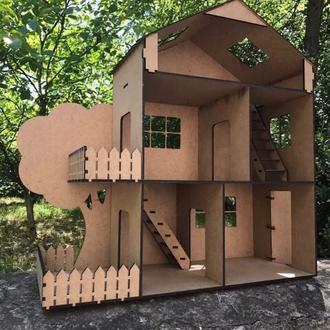 Кукольный домик 3D конструктор 1108
