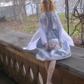 Кукла тильда зубная фея, Кукла Стоматолог
