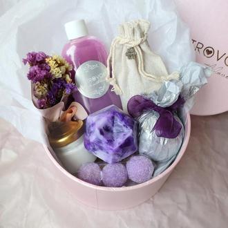 Подарочный набор «Аметист SPA box», подарок для девушки, сестры, подруги, на день рождения