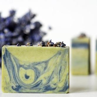 Лавандовый Прованс натуральное мягкое лавандовое мыло