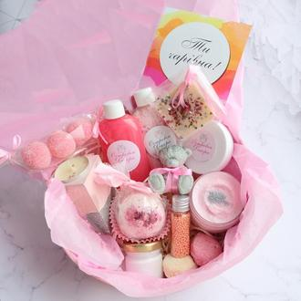 Подарочный набор  «Нежная мечта VIP» подарок для девушки, на день рождения, дочке, подруге, сестре