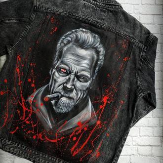 Джинсовая куртка Арни