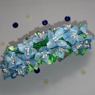 Обруч с мини цветами (150)