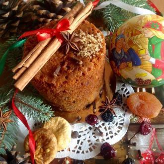 """Новогодняя выпечка """"Рождественский кекс"""". 2018!"""