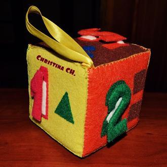 Developing cube | Развивающий кубик
