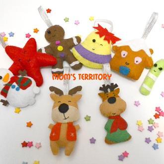 Toys for Christmas   Игрушки на елку