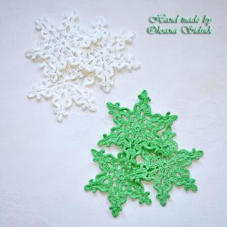 Декоративні сніжинки