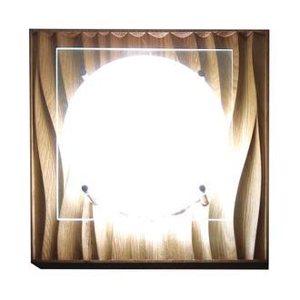 Светильник 3Д 2300  натуральный дуб LED 24 W