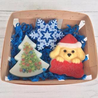 """Сувенирное мыло, набор """"Новогодний-5"""""""