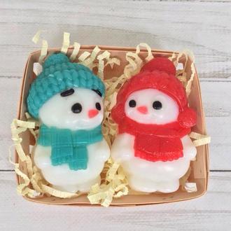 "Сувенирное мыло, набор ""Снеговики"""