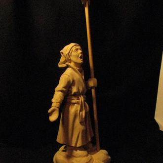 Колядничок, статуетка з дерева