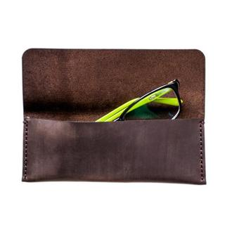Чехол для очков Glasses Case brown Just Feel