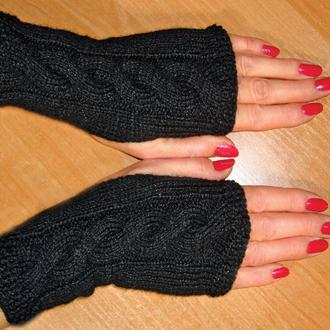 Митенки - перчатки без пальцев – stylish casual